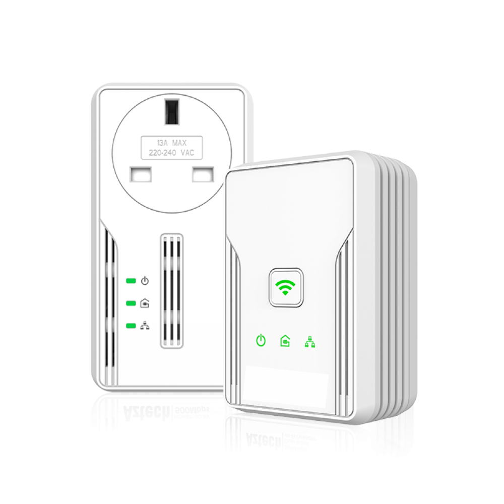 HomePlug AV 500Mbps with Pass Through with